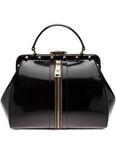Shop Versace zip detail tote in David Lawrence from the world's best independent boutiques at farfetch.com. Over 1000 designers from 300 boutiques in one website.