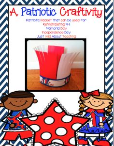 Just Wild About Teaching: United We Stand - A Patriotic Craftivity! Check out some great writing printables for September and a very cute craft! And Constitution Day Preschool Curriculum, Teaching Activities, Autumn Activities, Teaching Tools, Teaching Ideas, Patriots Day Activities, Beginning Of Kindergarten, Holiday Classrooms, Constitution Day
