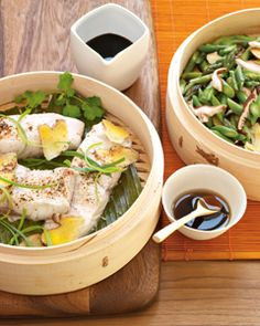 Recipes with Bamboo-steamer