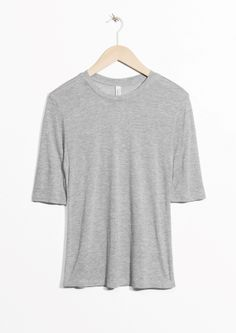 & Other Stories | Wool Blend Tee