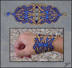 Wonderful art bracelets by Ellygator   Beads Magic