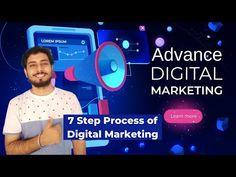 7 Step Digital Marketing Process   Advanced Digital Marketing Course FREE in Bangla   Pallab Ghosh - YouTube Marketing Process, Marketing Techniques, Marketing Strategies, Mobile Marketing, Internet Marketing, Coding Languages, What Is Digital, Free In, New Tricks