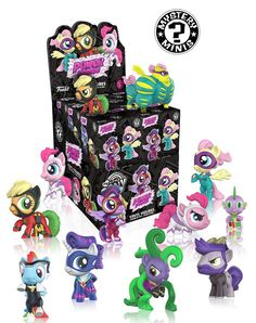 Funko Mystery Minis: My Little Pony Series 4 Full Case of 12 Pieces