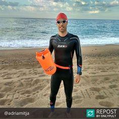 From Platja Calella Spain . . . Repost @adriamitja ... Estrenant nou material de @newwaveswimbuoy gràcies pel material després de 1000 metres nedant amb la boia vull dir que va genial i que 0 molèsties. Gràcies! @teamcalellatriathlon @deporvillage @grasbikes @taymory @capsulebike @saporecalella @fortiainersisoficial @fortiainersis @padelcalella @boirapineda @triatlocatalunya @zone3official @zone3spain #swim #bike #run #swimbikerun #newwaveswimbuoy #competition #temporada2017…
