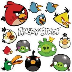 RoomMates RMK1794SCS Angry Birds Peel and Stick Wall Decals