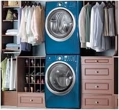 again with the washer and dryer in the closet!! i love it more and more....