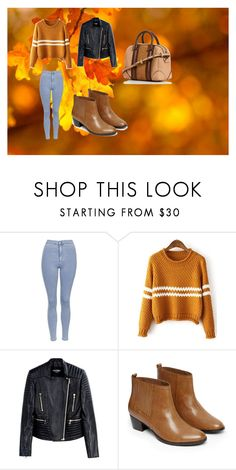 """""""Untitled #10"""" by ana-spatacean on Polyvore featuring Topshop, Balmain and Warehouse"""