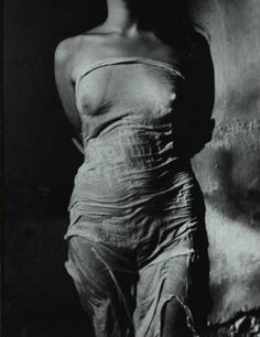 Torso No. 2, Regina   by Jan Saudek, 1976