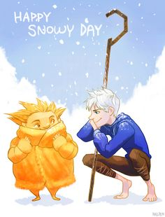 Happy Snowy Day by Hallpen.deviantart.com - #winter_wonderland