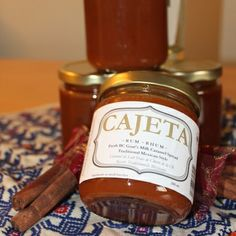 OMG Cajeta handmade in Vancouver. Our best new flavour: Rum. Please support local food producers! http://www.foofiepages.ca/OMG/p/Rum_Goats_milk_caramel_spread