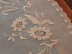 Em srdce Obliečky -vyšívané Marghab Vintage Servítky Prestieranie Pšenica