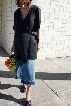 Kimono Wrap Dress (Kimono Wrap Top)