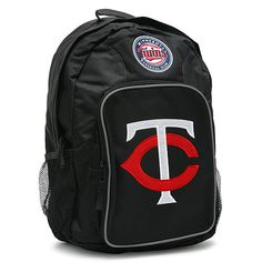 Kids! It's almost back to school (I know, I'm so sorry). Why not make it a first day to remember with this snazzy #Twins backpack?