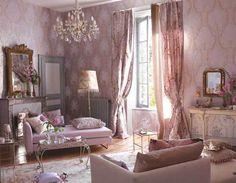 Pink Paris salon.