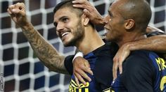 Inter came from behind to defeat defending champions Juventus in the Derby d'Italia in what was an end to end clash at the San Siro. Ivan Perisic, Mauro Icardi, 2 In, Derby, Milan, Champion, Football, Goals, Sport