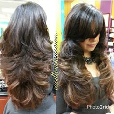 Image Result For Photos Of Step Cut Hairstyle Party Time