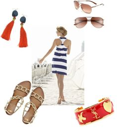"""beach"" by hcc71 on Polyvore"