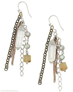 Capture the crowd's attention in these stunners. Pearl, Brass, Copper, Glass, Sterling Silver.