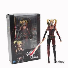 NECA Batman Arkham City Harley Quinn 1/4 Scale KT3754