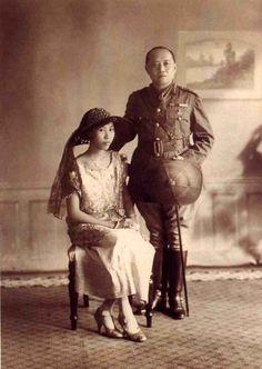 HM King Vajiravudh (King Rama VI) with Princess Suvadhana.