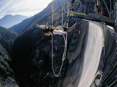 Bungee jumping - Contra, Switzerland