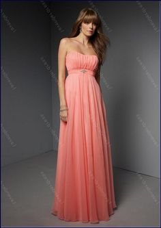 new-strapless-long-coral-cocktail-dress/