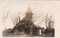 RP: FONTANELLE, Iowa, PU-1909; M.E. Church Old Churches, My Church, South Carolina, Iowa, United States, History, Historia