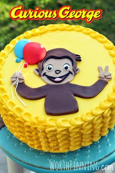 Worth Pinning: Curious George Cake