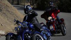 Tilting Motor Works kit turns Harley-Davidson motorcycles into 'reverse trikes' - LA Times