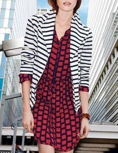 Bold patterns on a cute dress are our fave!