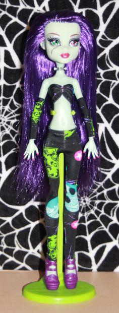 Killa Watts Monster High custom ooak doll by mythicalmommy1717
