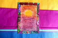 """My new art """"Sunset""""  All copyrights reserved ~ Shaloo Webster 2014"""