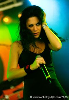 Cristina Scabbia Lacuna Coil- There's so much talent stuffed into this incredible woman.