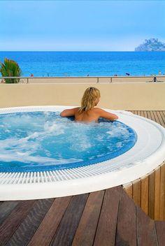 Hotel RH Casablanca - Jacuzzi Casablanca, Jacuzzi, Tub, Exterior, Outdoor Decor, Home Decor, Ocean Views, Walks, Hotels