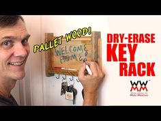 MORE THAN - Rustic Mail Organiser - YouTube