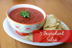 5 Ingredient Salsa #
