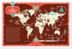 Yorokobu infographics 2012 on Behance