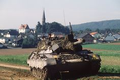 Bundeswehr fighting vehicles Leopard I