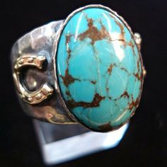 It's throwback Thursday #tbt I still live this style 6 years later! #nofilter #turquoise #gold #horseshoe #goodluck