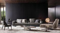 Vier-oder Mehrsitzer Sofas: Sofa White von Minotti