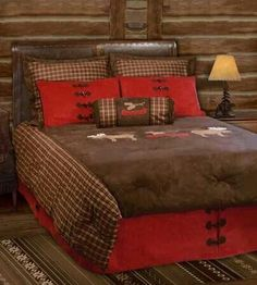 Rustic Bedding   Rocky Mountain Cabin Decor Offers A Number Of Rustic  Bedding Collections To Turn Any Bedroom Into A True Rustic Lodge.