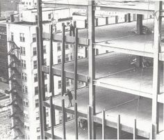 Ludwig Mies van der Rohe | 860-880 Lake Shore Drive | Chicago, Illinois | Under Construction | 1948-1951