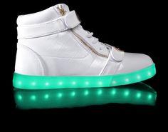 LED Shoes | Limited Edition White Orion HoverKicks – Hoverkicks
