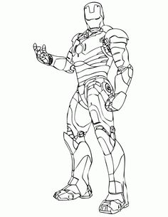 Free Printable Ironman Coloring Pages Iron Man Coloring Pages Getcoloringpages Captain America Coloring Pages, Avengers Coloring Pages, Superhero Coloring Pages, Marvel Coloring, Coloring Pages For Boys, Colouring Pages, Coloring Books, Simpsons Drawings, Cartoon Drawings