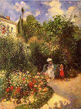 Le Jardín de Pontoise, 1877