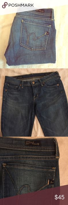 Citizen of humanity jeans Citizen of humanity flair jeans. Ingrid #002 stretch, low waist flair. In excellent used condition. No flaws. Offers welcome Citizens of Humanity Jeans Flare & Wide Leg