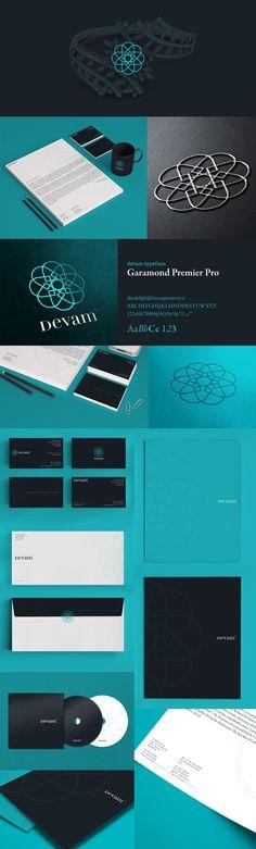 Devam #branding #identity #design