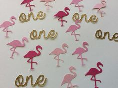 Flamingo party, Flamingo birthday, Pink Flamingo, Flamingo decor, Tropical party, birthday party, baby shower, lets flamingle, hen party