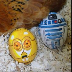 Happy easter. Star Wars eggs
