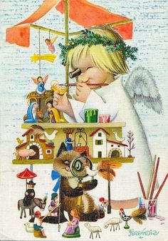 Licena hill ilustraciones infantiles de juan ferr ndiz - Ilustraciones infantiles antiguas ...